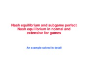 Nash+equilibrium+and+SPNE