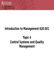Topic 4 Control Systems and Quality Management.pptx