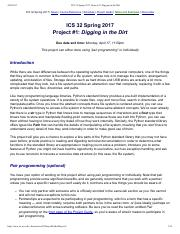 ICS 32 Spring 2017, Project #1_ Digging in the Dirt.pdf