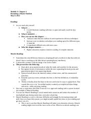 Notes Module 3 Becoming a Master Student Chapter 4.docx