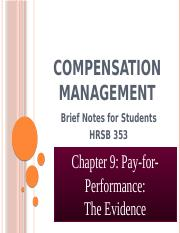 Chapter 9 - Pay for Performance.pptx