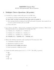 Midterm Answer Key