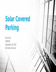 Solar Covered Parking power point.pptx