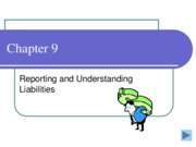 Chapter 9 Reporting and Understanding Liabilities lecture notes