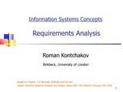 lecture 11 on Information systems Concepts