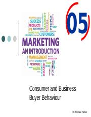 Ch. 5 - Consumer and Business Buyer Behaviour.pptx