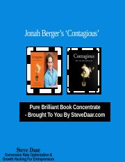 #Brilliant-Book-Concentrate-Jonah-Berger-Contagious