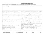 Writing Portfolio Grading Criteria French 240 Sp  13