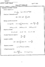 CHEM 120B - Spring 2010 - Geissler - Midterm 2 (solution)