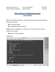 Manual Steps in Installing Squirrelmail (Linux Mint)-final