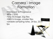 Camera - Image Formation - Notes