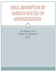 1.DRUG ABSORROUTES OF ADMINISTRATION.pptx