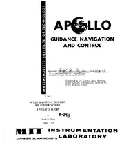 Guidance navigation and control apollo