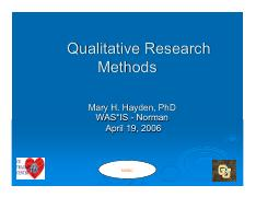 Qualitative-Research-Methods