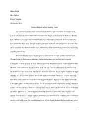 Reading Book Written Essay