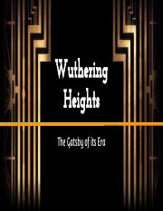 Wuthering Heights Presentation