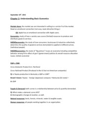 BUS 150 Ch. 2 Notes