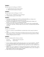 Chapter 2 - questions in class