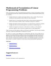 54304380-Mathematical-Formulation-of-Linear-Programming-Problems.docx
