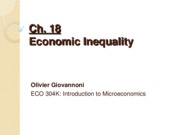 Ch 18 - Economic Inequality