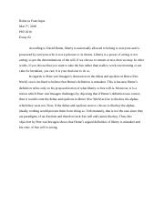 DEP Reflection essay 2.docx