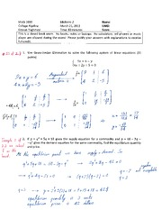 Midterm 2 Solution