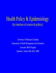 8544- 13- Policy Analysis