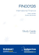 Financial study guide