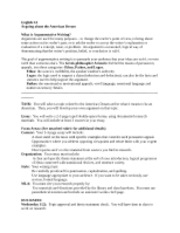 american dream research paper assignment