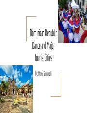 Dominican Republic Dance and Major Tourist Cities.pdf