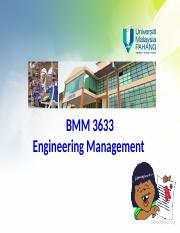 Chapter 9 Engineering Management