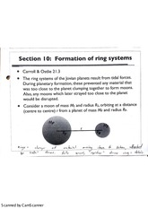 Formation of Ring Systems Lecture Notes