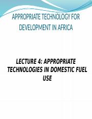 Lecture 4-approtech in  woodfuel use-new