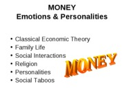 Money Personality - Students