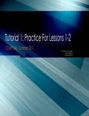 Tutorial 1 - Practice Exercises for Lessons 1-2.pdf