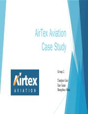 airtex aviation case study solution