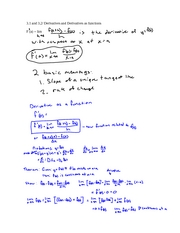 3.1 derivatives