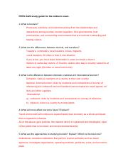 climate change and its effects on tourism essay example running  7 pages prtm midterm study guide