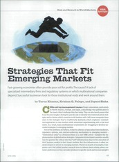 Strategies that fit emerging markets