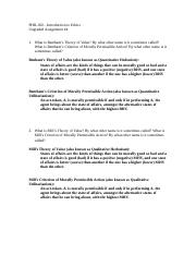 PHIL160 (Fall 16) Ungraded Assignment#4 (Answers).doc