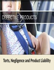 Business Law - 4 Torts Negligence PL 6.0