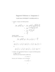 Assignment2(1804)(Solution)
