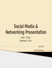 Social Media and Networking Presentation