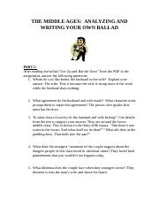 M1L3 Medievel Ballads Questions - Part 1 and 2 (1).docx