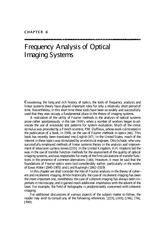 Lecture4_reading materials_frequency analysis of optical imaging systems