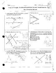 Congruent Triangles Test