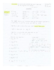 Logarithms & Exponent Logarithmic Forms