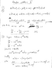 Midterm Exam Fall 2011 Solutions on Modeling in Applied Math