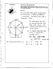804_Mechanics Homework Mechanics of Materials Solution