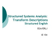 Structured Analysis Lec 4